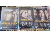 Homeland Series 1 – 3 …