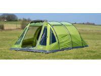 vango icarus 500 deluxe tent with foot print, carpet and awning