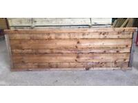 🌲•New• Tanalised Wooden/ Timber Garden Fence Panels