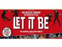 5 tickets for Beatles let it be show at hull new theatre monday 24th september 730pm