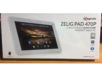 """Zelig Pad 470P 7"""" Multi Touch Quad Core Internet Tablet PC Brand New Unopened"""