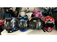 Motorcycle helmets £30 each