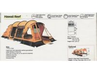 Outwell 5 Berth Tent plu extras