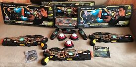 WowWee Light Strike Assault Striker S.R. 143 Laser Tag game. Boxed & in fantastic condition!