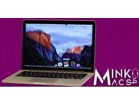"""13"""" APPLE MACBOOK PRO RETINA DISPLAY 2.6Ghz QUAD i5 8GB 250GB SSD LOGIC PRO X PRO TOOLS 10 SIBELIUS"""