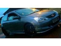 Honda Civic type R ep3 facelift cosmic grey