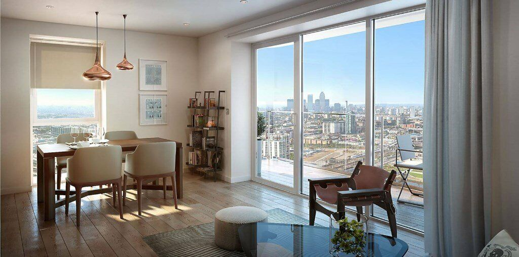LUXURY 1 BED GLASSHOUSE GARDENS E20 STRATFORD CANARY WHARF BOW WESTFIELD PUDDING LANE