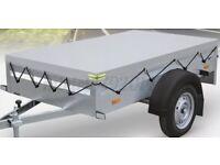 BRAND NEW Car box trailer 7ftx4ft FREE JOCKEY WHEEL AND COVER 750kg -