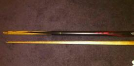 Jimmy White Snooker Cue and case