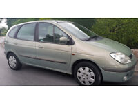 Renault Scenic 1.4 16vPetrol People Carrier, 1 yr mot, Great family car, cheap insurance picasso
