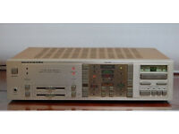 Vintage 1980s Marantz digital stereo power amplifer with phono stage / record player input.