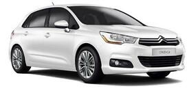 CITROEN C4 1.6 VTR PLUS HDI 5DR Manual (white) 2014