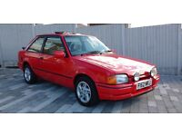 1989 FORD ESCORT XR3i RED - FSH 96k, superb history, Lovely car all round, lots spent