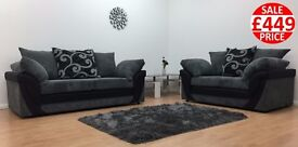 BRAND NEW LUSH SOFA SET - FAST UK DELIVERY