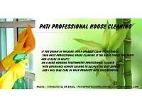 PATI PROFESSIONAL HOUSE CLEANING-10f/h