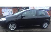 Black Fiat Punto Dynamic 2008 1.2L