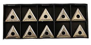 RISHET TOOLS TNMG 432 C5 Uncoated Carbide Inserts (10 PCS)