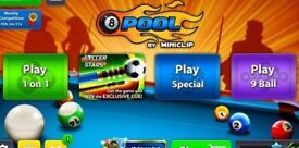 8 Ball Pool 1 million Coins. (Fast Delivery) FREE COIN OFFER READ DESCRIPTION
