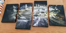 Mecca canvas