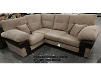 Corner sofa, 3 seater, cuddle chair, armchair. JUNE CLEARANCE - 50% OFF Free Delivery in Reading