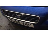 Volvo S40 Royal Blue Front Bumper