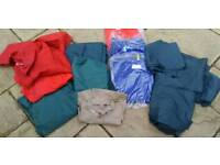 Lot of Boiler Suits and work wear most new.