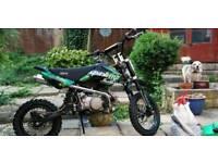 110cc stomp hustle pitbike
