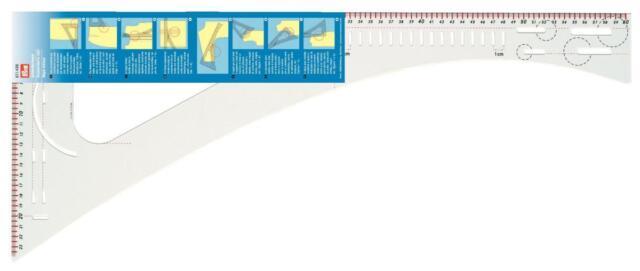 Dressmakers Transparent Ruler - Prym Quality Product 611499