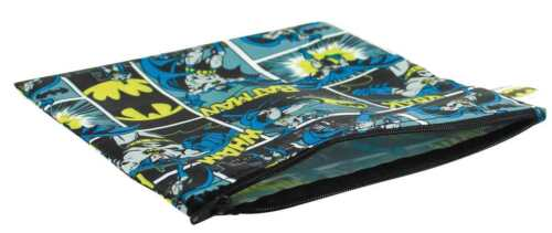 DC BATMAN LARGE REUSABLE SNACK BAG NEW IN PACKAGE #soct16-164