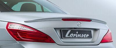 Mercedes-Benz Lorinser OEM Hinter Spoiler Lip Sl Klasse R231 2013 + Brandneu