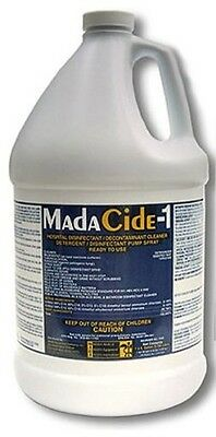 Madacide-1 Disinfectant Cleaner Liquid 1 Gallon Mada Medical 7009 Madacide1