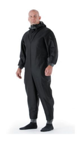 NEW Ex Police CBRN Protective Britannia Rubber Fetish Chemical Coverall K/RP02