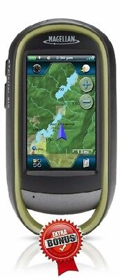 Magellan Explorist 610 GPS CANADA / USA (NA) ATV SNOWMOBILE FISHING HOTSPOT MAPS