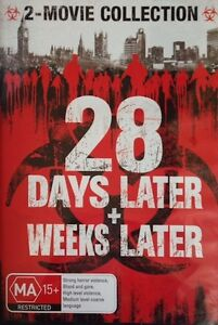 28 DAYS LATER + 28 WEEKS LATER = NEW & SEALED R4 DVD