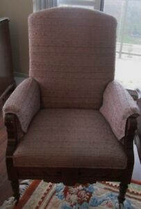 Vintage Armchair Recovered