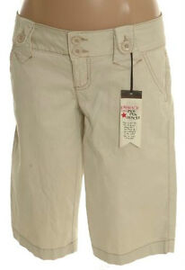 Light Tan Pique Bermuda Shorts - Size 0 or Size 7 - NEW Gatineau Ottawa / Gatineau Area image 1