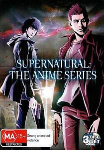SUPERNATURAL THE ANIME TV Series = NEW R4 DVD