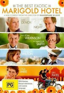 The Best Exotic MARIGOLD HOTEL : NEW DVD