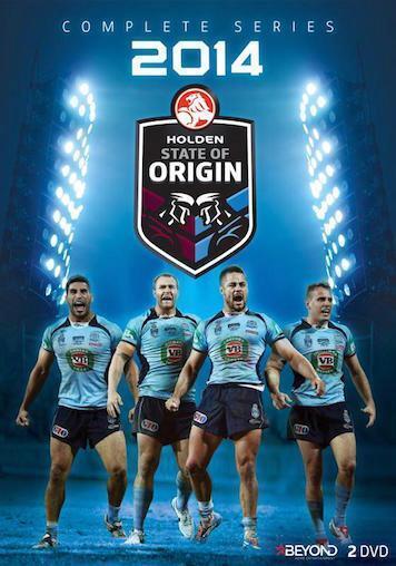 STATE OF ORIGIN 2014 Series : NEW DVD