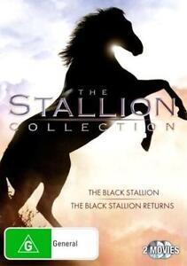 THE BLACK STALLION / BLACK STALLION RETURNS : NEW Collection 1 - 2 DVD