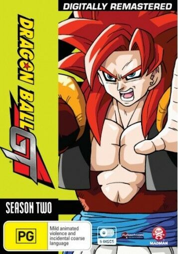 DRAGON BALL GT SEASON 2 : NEW DVD