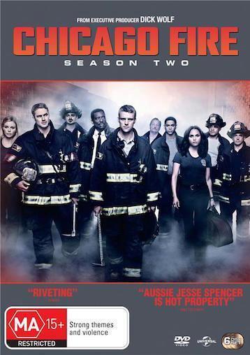 Chicago Fire SEASON 2 : NEW DVD