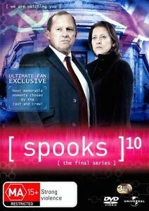 SPOOKS TV Series SEASON 10 = NEW SEALED R4 DVD