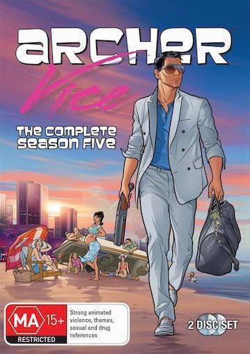 ARCHER Season 5 : NEW DVD