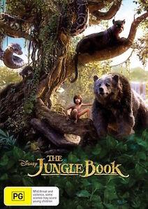 The Jungle Book (DVD, 2016) : NEW Disney