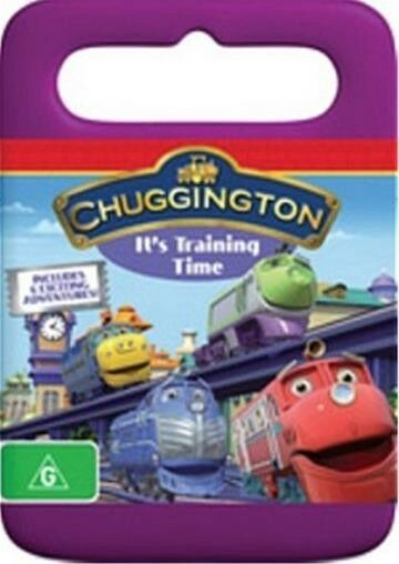 Chuggington IT'S TRAINING TIME : NEW DVD