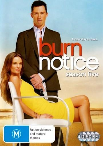 BURN NOTICE Season 5 : NEW DVD