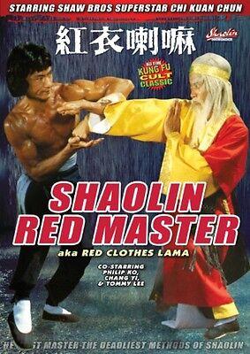 Shaolin Red Master-Hong Kong RARE Kung Fu Martial Arts Action movie - NEW DVD