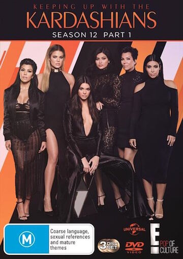 Keeping Up With The KARDASHIANS : Season 12 Part 1 : NEW DVD