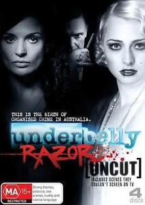 UNDERBELLY Season 4: RAZOR : NEW DVD